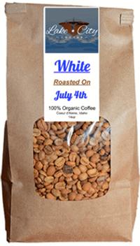 White Whole Bean Coffee