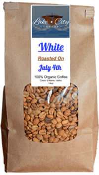 White Whole Bean Coffee
