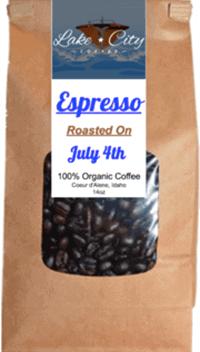 Espresso roast coffee