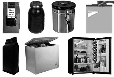 storing coffee
